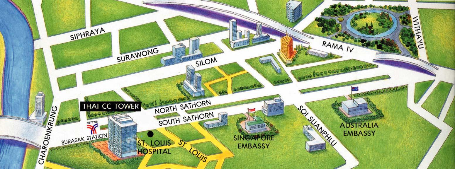 แผนที่ไทยซีซี ทาวเวอร์